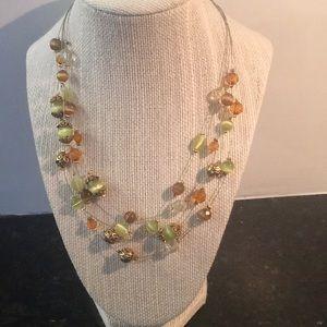 Cute multi strand necklace